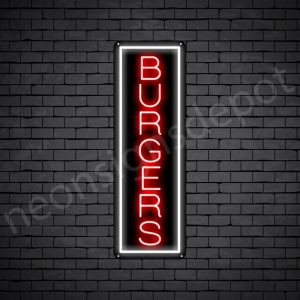 Burgers V5 Neon Sign