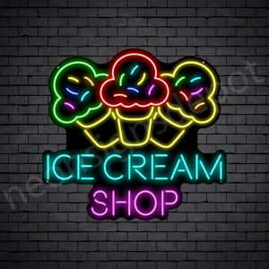Ice cream Shop Neon Sign