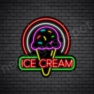 Ice cream V3 Neon Sign