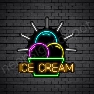 Ice cream V4 Neon Sign