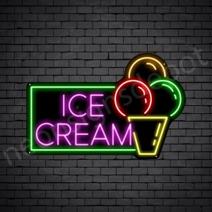 Ice cream V7 Neon Sign