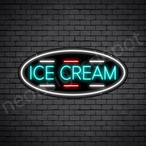 Ice cream V8 Neon Sign