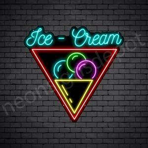 Ice cream V9 Neon Sign