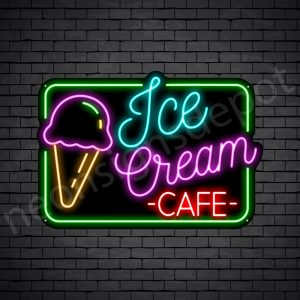 Ice cream cafe Neon Sign