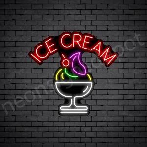 Ice Cream V13 Neon Sign