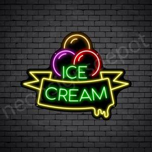 Ice Cream V14 Neon Sign