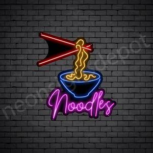 Noodles V2 Neon Sign