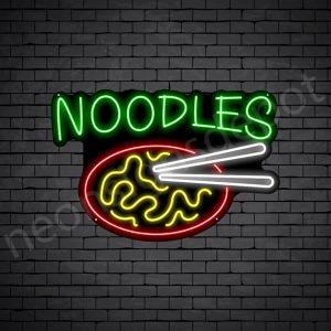 Noodles V6 Neon Sign