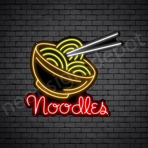 Noodles V7 Neon Sign