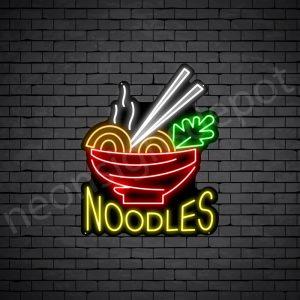 Noodles V8 Neon Sign